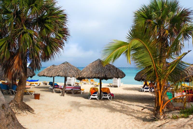 Spiaggia di Varadero fotografia stock