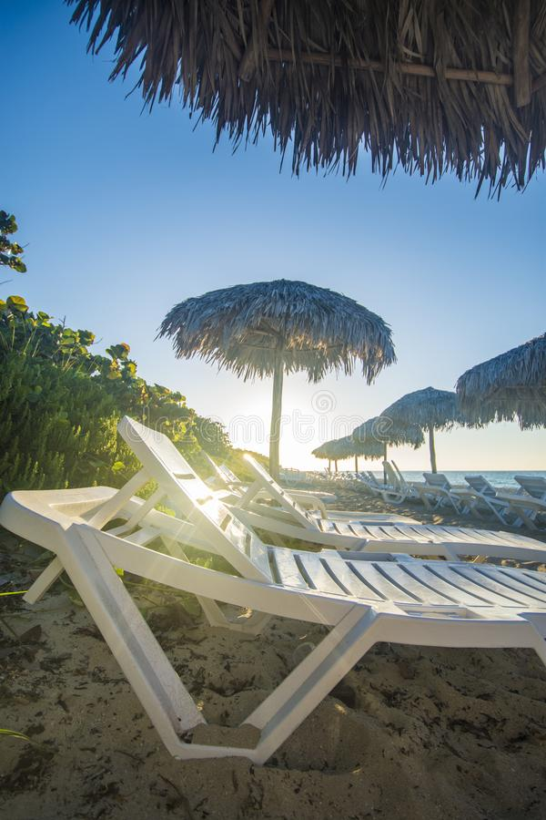 Spiaggia di Varadero, destinazione perfetta nel Caribbeans fotografie stock