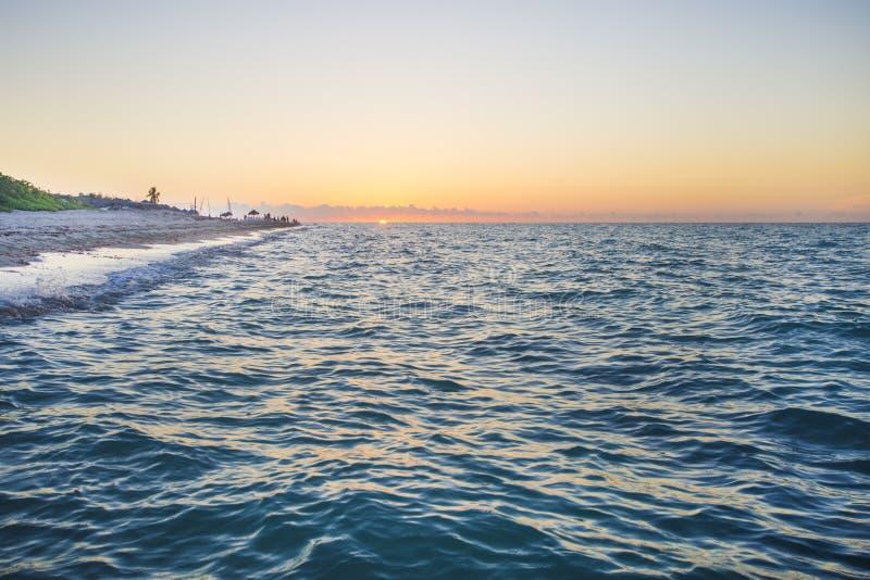 Spiaggia di Varadero, destinazione perfetta nel Caribbeans fotografia stock