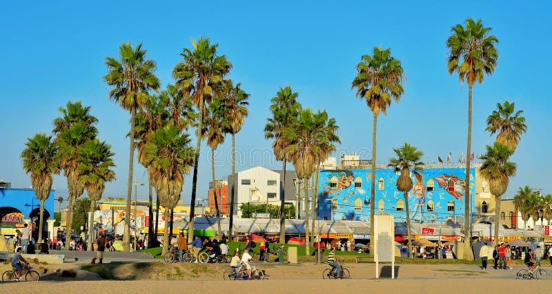 Spiaggia di Venezia, Stati Uniti immagini stock libere da diritti