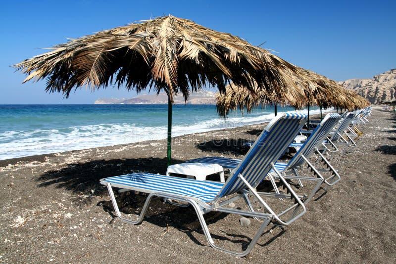 Spiaggia di Vlichada immagine stock