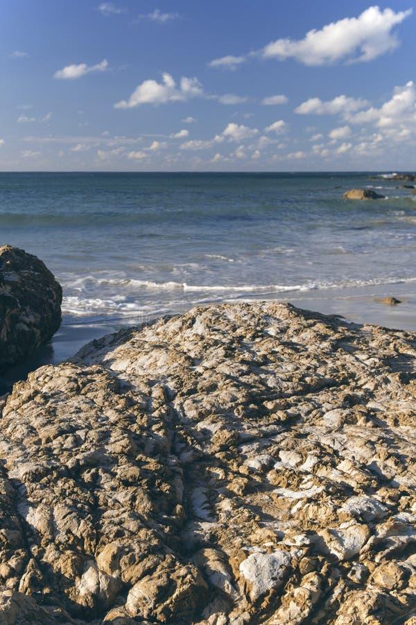 Spiaggia di Wategos in Byron Bay fotografie stock libere da diritti