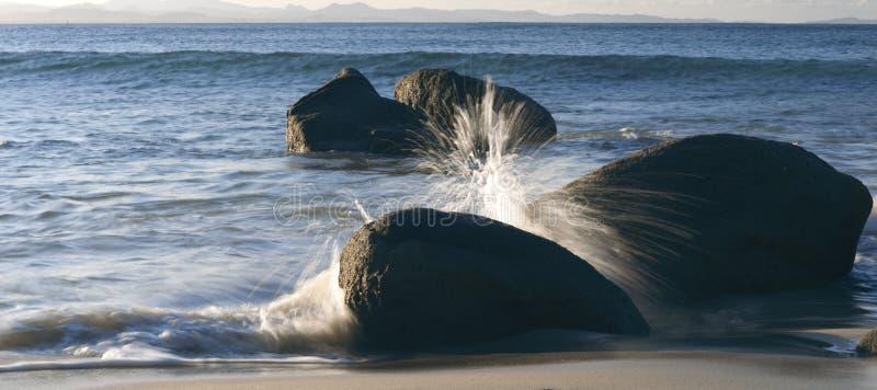 Spiaggia di Wategos in Byron Bay immagine stock libera da diritti