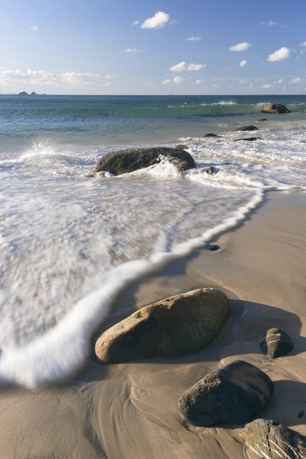 Spiaggia di Wategos in Byron Bay fotografia stock