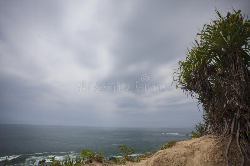 Spiaggia di WediOmbo immagine stock libera da diritti