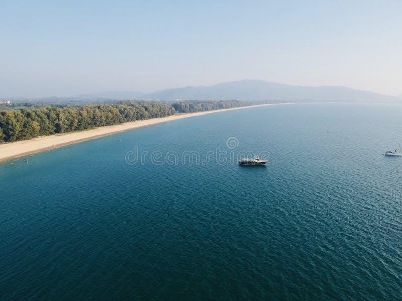 Spiaggia di yang del NaI, Phuket fotografia stock