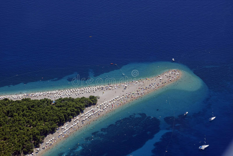 Spiaggia dorata del capo fotografie stock libere da diritti