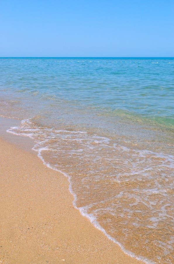 Spiaggia in estate fotografia stock libera da diritti