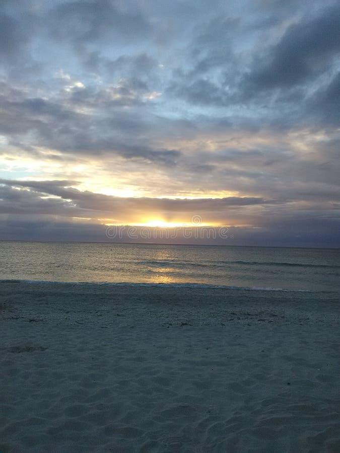 Spiaggia Florida di Nokomis immagine stock