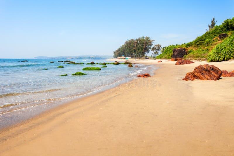 Spiaggia in Goa, India fotografia stock libera da diritti