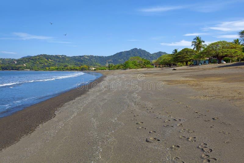 Spiaggia in Guanacaste immagini stock
