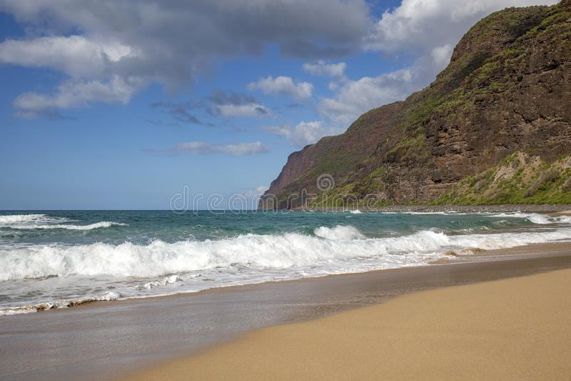 Spiaggia Hawai immagine stock libera da diritti