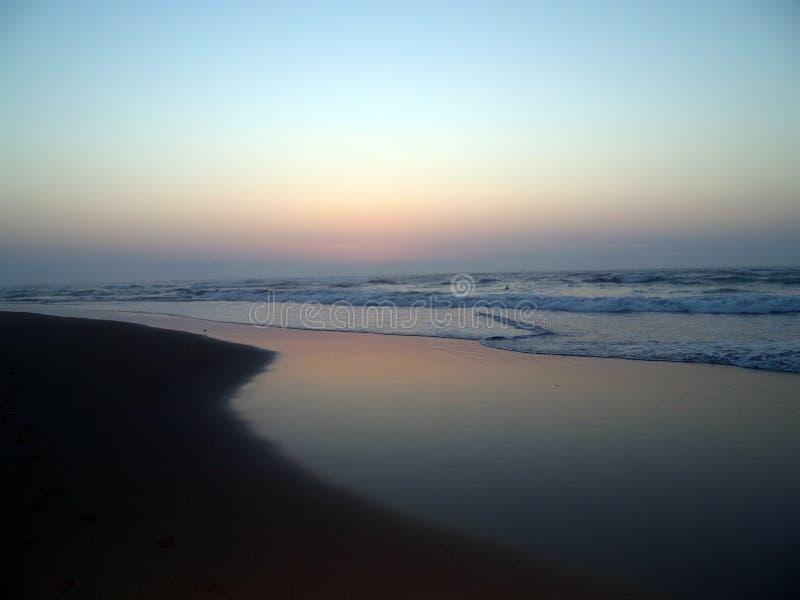 Spiaggia i di Sopelana immagini stock libere da diritti