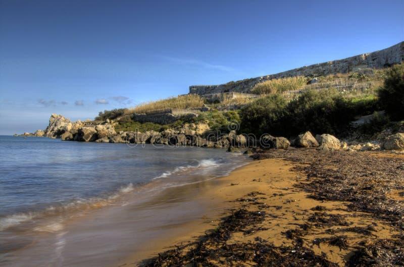 Spiaggia isolata fotografia stock libera da diritti