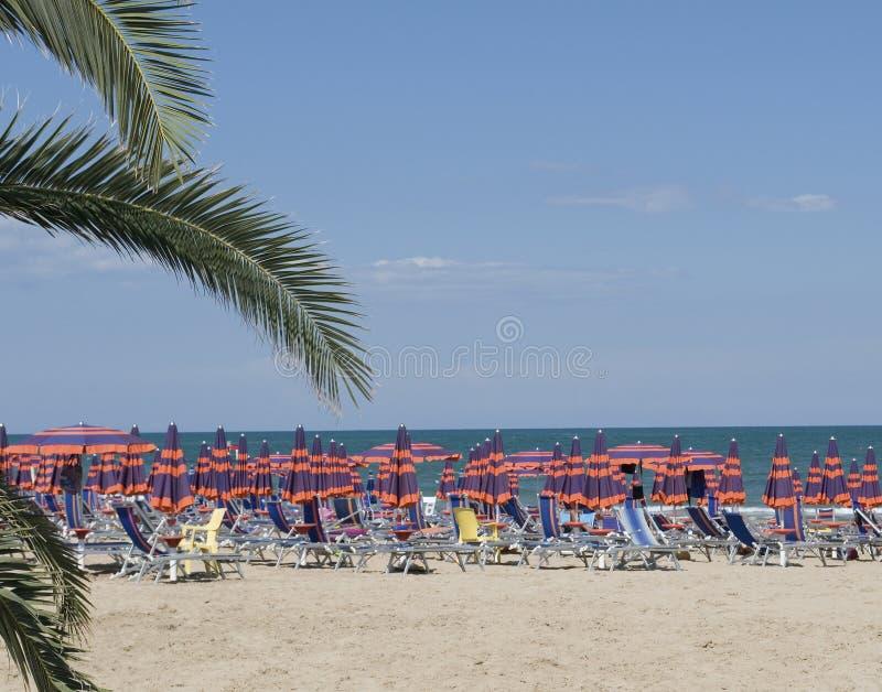 Spiaggia italiana immagini stock libere da diritti