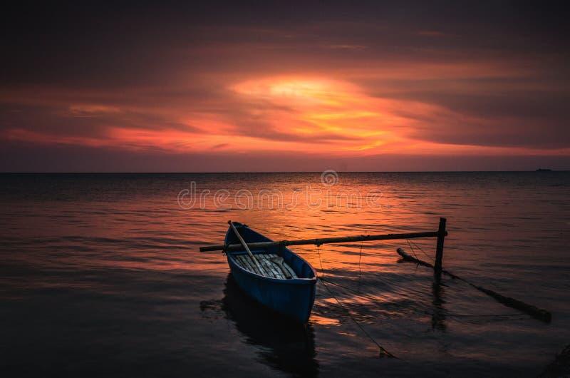 Spiaggia Jepara Indonesia di Bondo fotografia stock libera da diritti