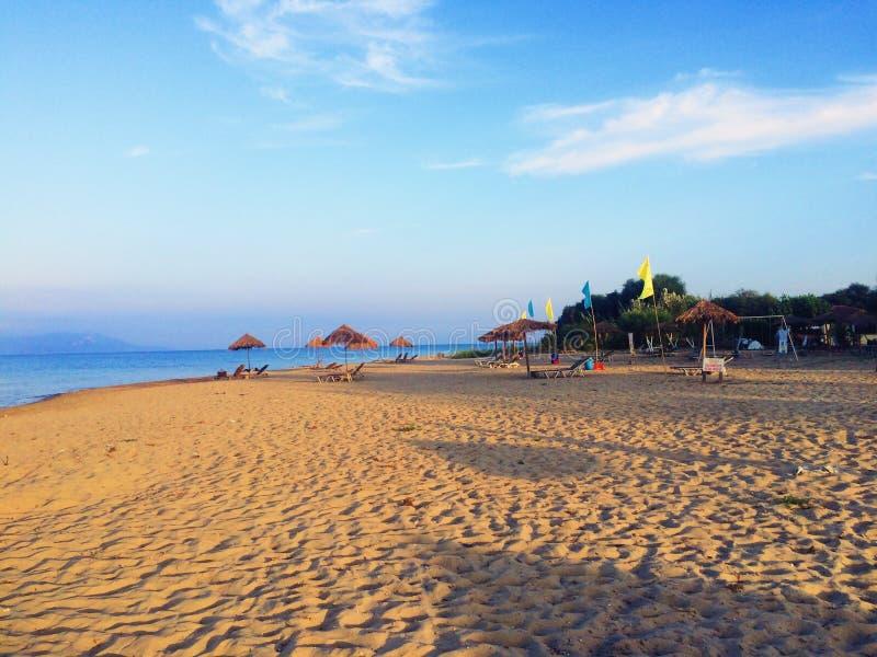 Spiaggia, Kavos, Grecia immagine stock libera da diritti