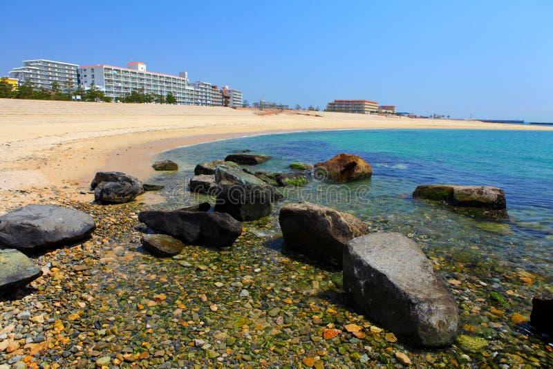 Spiaggia a Kobe fotografie stock