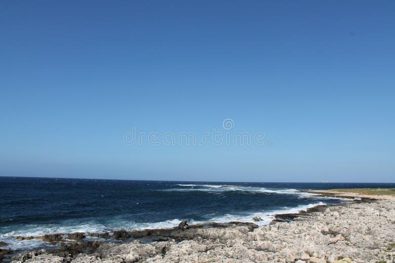 Spiaggia Malta fotografia stock libera da diritti