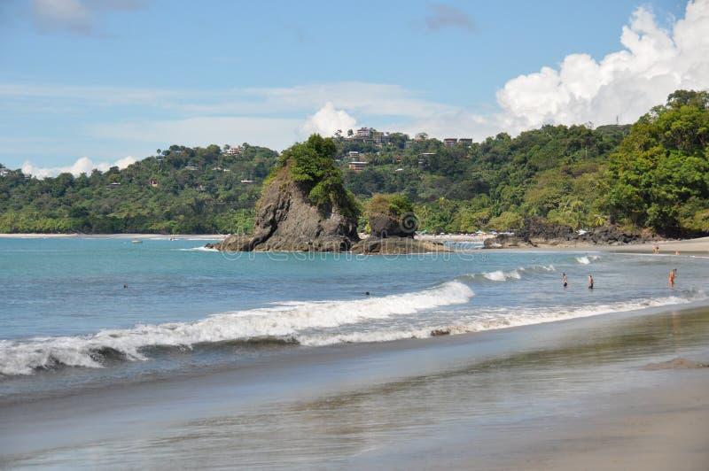 Spiaggia a Manuel Antonio National Park, Costa Rica immagini stock libere da diritti