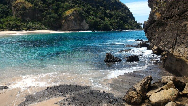 Spiaggia Maumere di Koka immagini stock libere da diritti