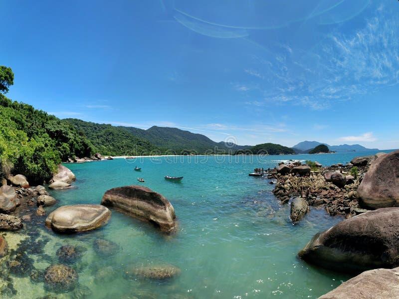 Spiaggia nel Brasile fotografia stock libera da diritti
