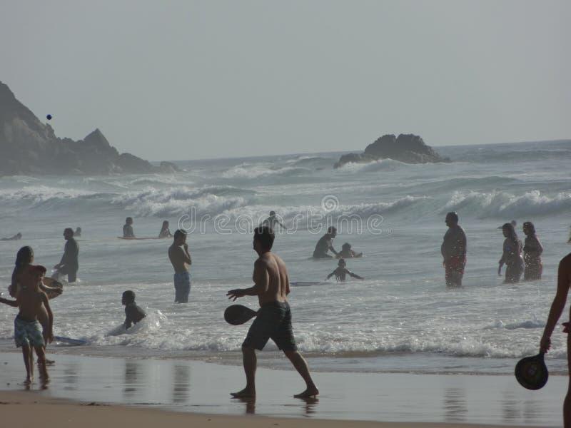 Spiaggia nel Portogallo immagine stock libera da diritti