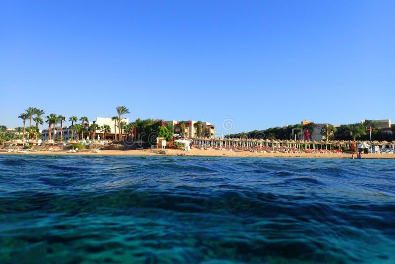 spiaggia nell'egitto immagine stock libera da diritti