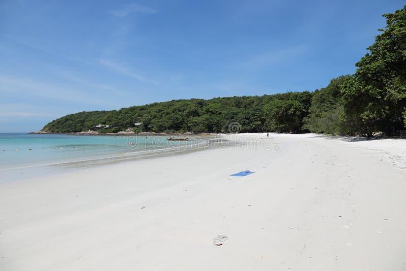 Spiaggia nell'isola di Ko Samet in Tailandia immagini stock libere da diritti