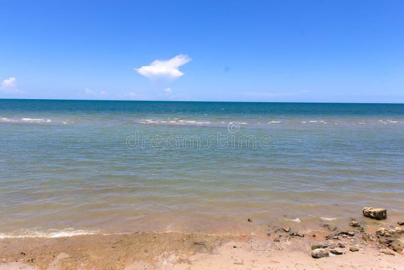 Spiaggia nella festa immagine stock
