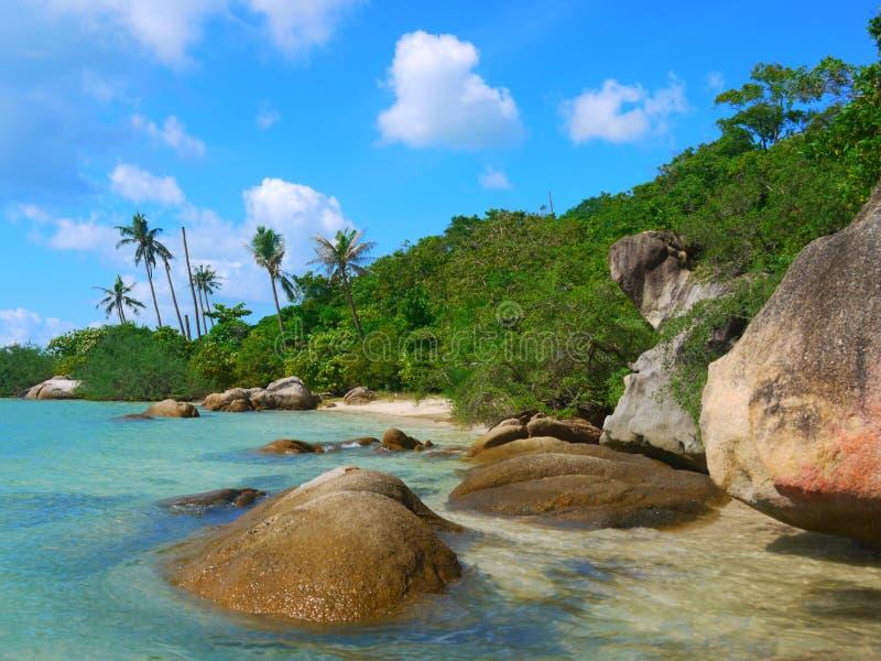 Spiaggia piacevole fotografia stock