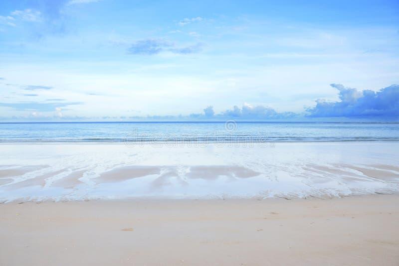 Spiaggia provincia della Tailandia, phuket fotografia stock