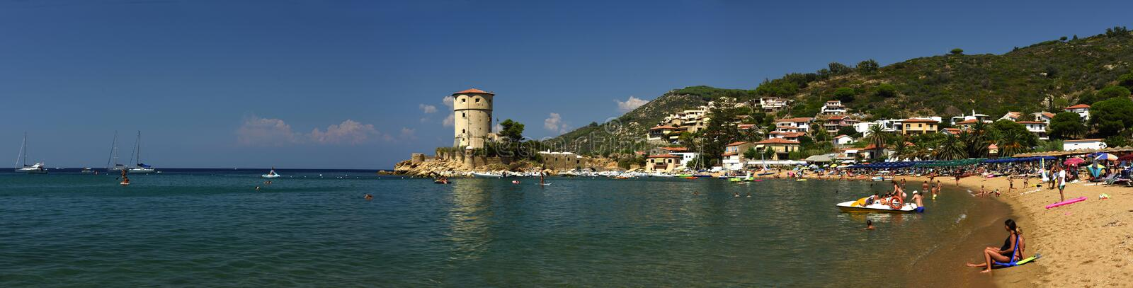Giglio Campese, Tuscany, Italy stock image