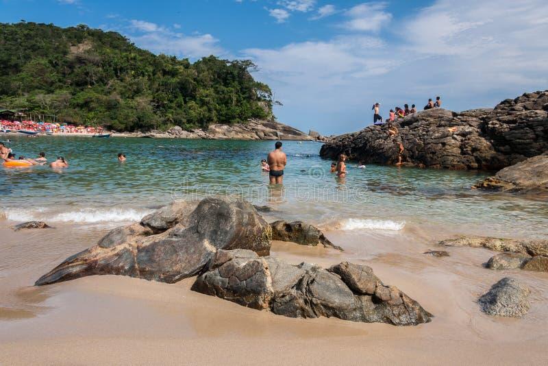 Spiaggia Rio de Janeiro di Trindade immagine stock