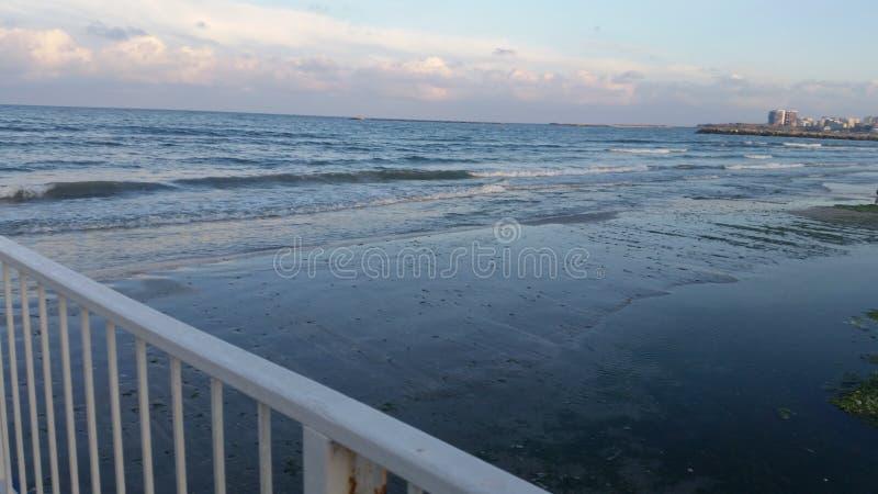 Spiaggia rumena fotografia stock
