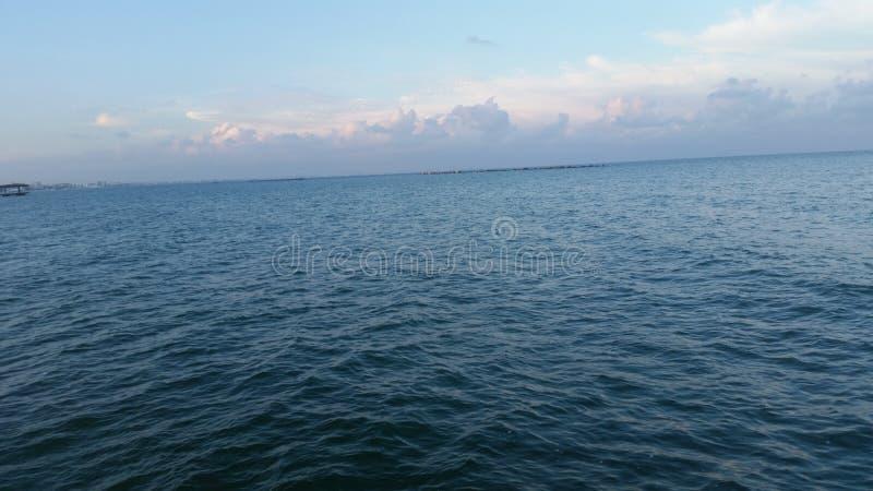 Spiaggia rumena fotografie stock
