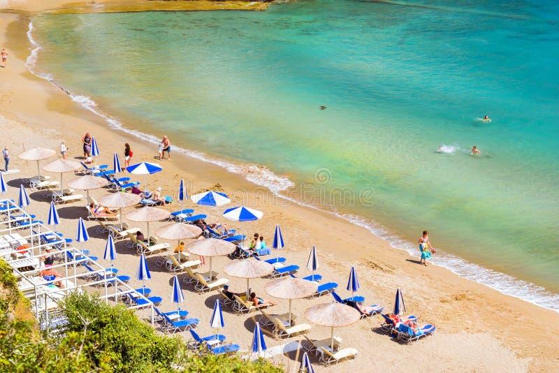 Spiaggia Sabbiosa Varkotopos, Località Di Soggiorno Bali, Creta ...