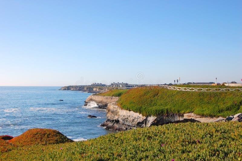 Spiaggia a Santa Cruz, California immagini stock libere da diritti