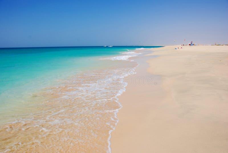 Spiaggia a Santa Maria - isola del sale - il Capo Verde