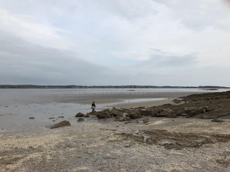 Spiaggia scozzese fotografie stock libere da diritti