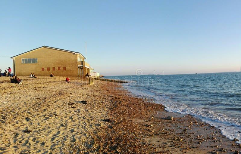 Spiaggia serena fotografie stock libere da diritti