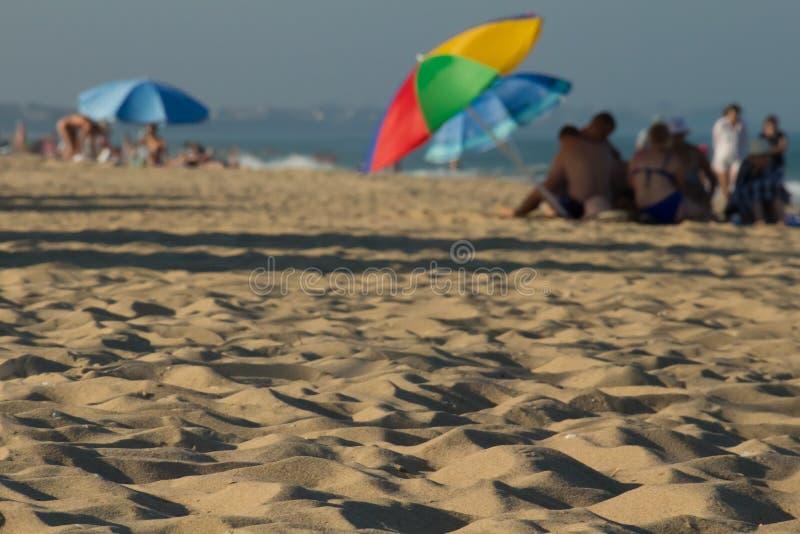 Spiaggia soleggiata vaga su Ucraine immagini stock libere da diritti