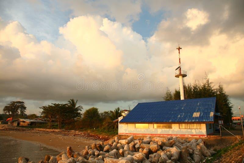 Spiaggia Southtern di Saphi della Tailandia fotografia stock libera da diritti