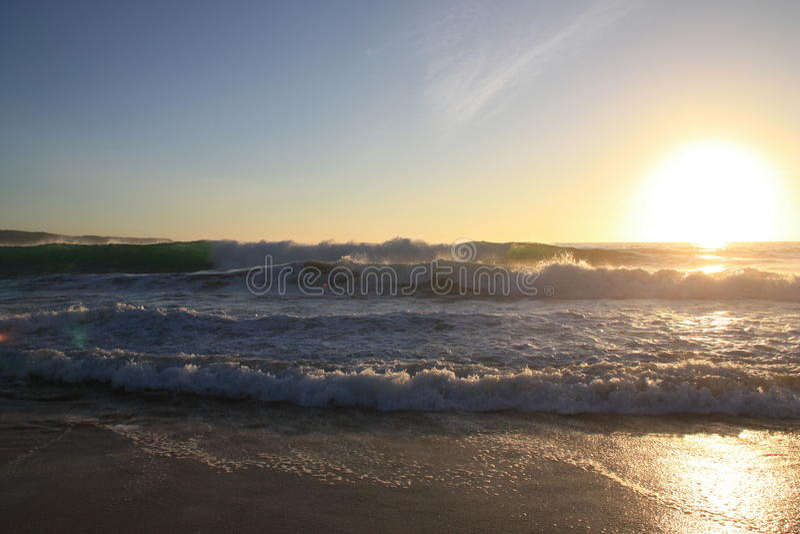 Spiaggia in spagna fotografie stock