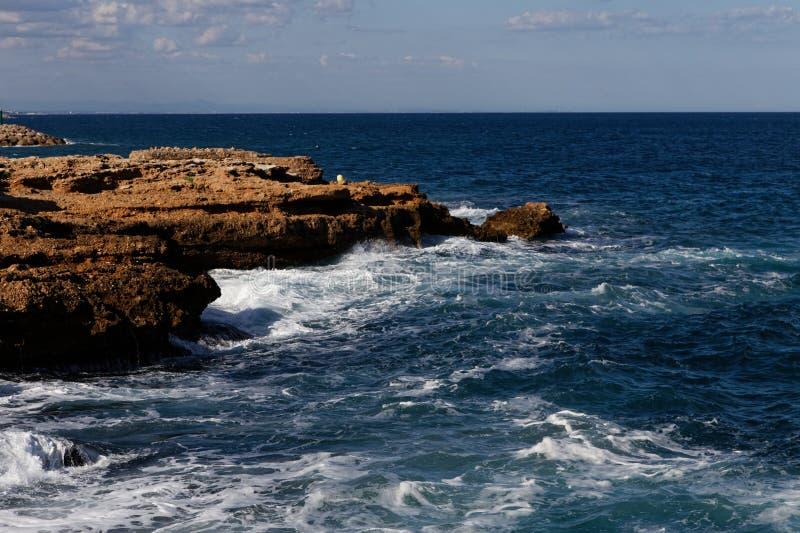 Spiaggia spagnola immagini stock libere da diritti