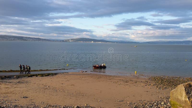 Spiaggia Swansea di Mumbles immagine stock libera da diritti