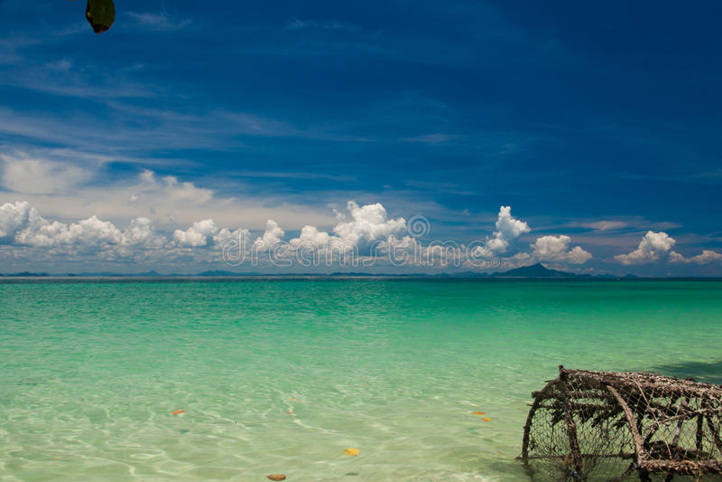 Spiaggia in Tailandia fotografia stock