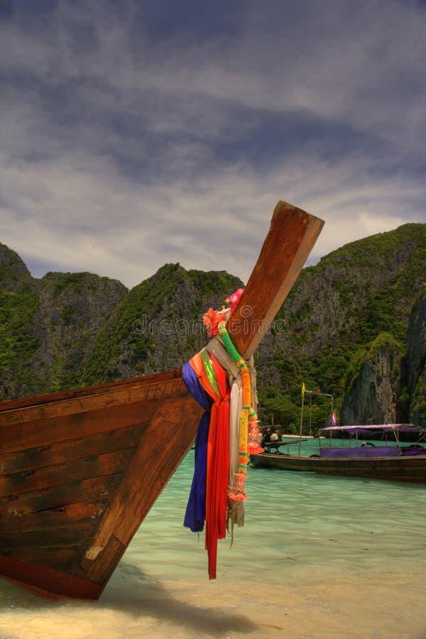 Spiaggia Tailandia del Maya fotografie stock