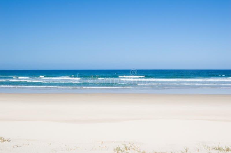 Spiaggia tropicale del Virgin immagine stock