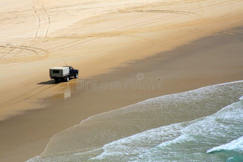Spiaggia tropicale - isola di Fraser fotografia stock libera da diritti